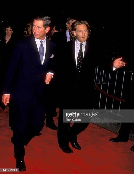 Prince Charles of Wales and Kenneth Branagh at the Premiere of 'Frankenstein' Cineplex Odeon Cinemas Century City