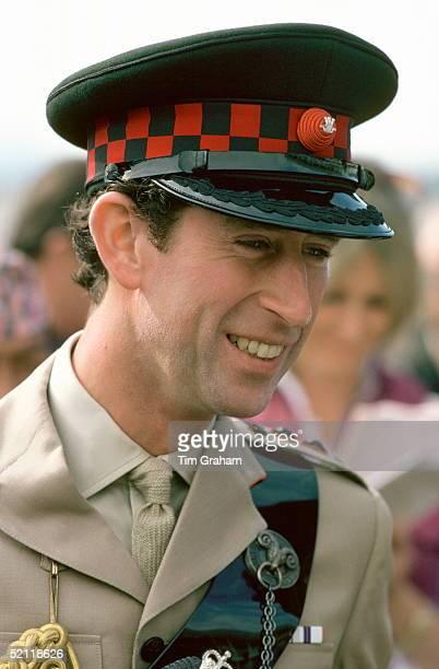 Prince Charles Portrait In Uniform As Colonelinchief Of The Gurkha Regiment