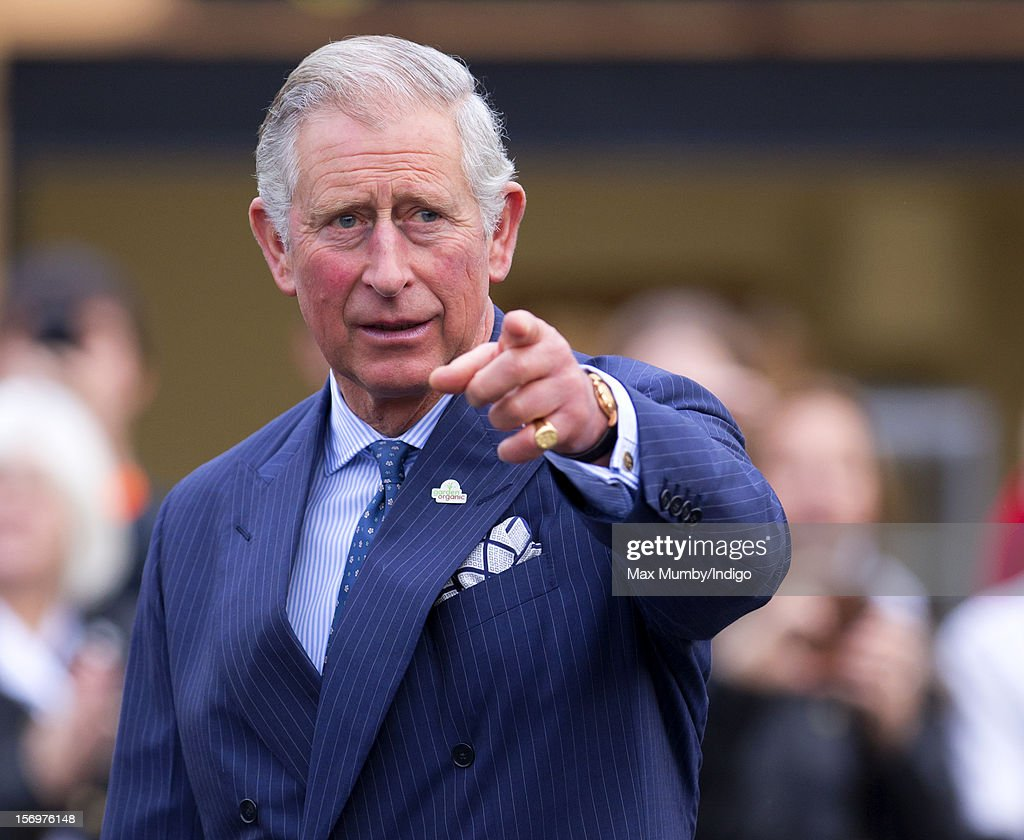 Prince Charles Prince of Wales accompanied by Jamie Oliver visits Carshalton Boys Sports College to see how the school has transformed its approach...