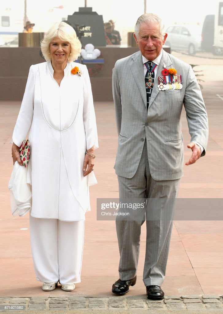 The Prince Of Wales & Duchess Of Cornwall Visit Singapore, Malaysia, Brunei And India - Day 10