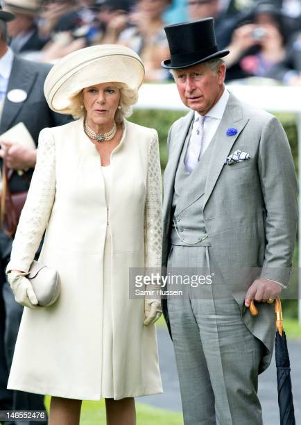 Prince Charles Prince of Wales and Camilla Duchess of Cornwall attend day 1 of Royal Ascot 2012 at Ascot Racecourse on June 19 2012 in Ascot United...