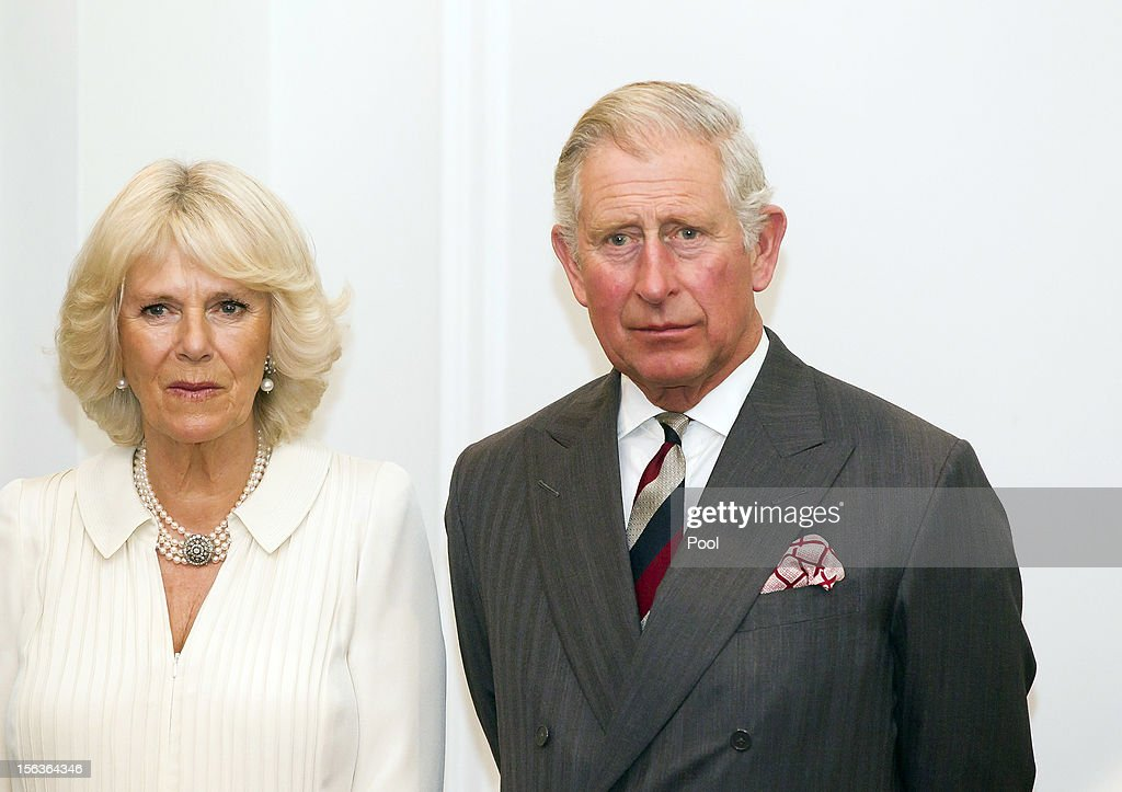 Prince Charles, Prince of Wales and Camilla, Duchess of Cornwall look on during his 64th birthday celebrations, at Government House on November 14, 2012 in Wellington, New Zealand. The Royal couple are in New Zealand on the last leg of a Diamond Jubilee that takes in Papua New Guinea, Australia and New Zealand.