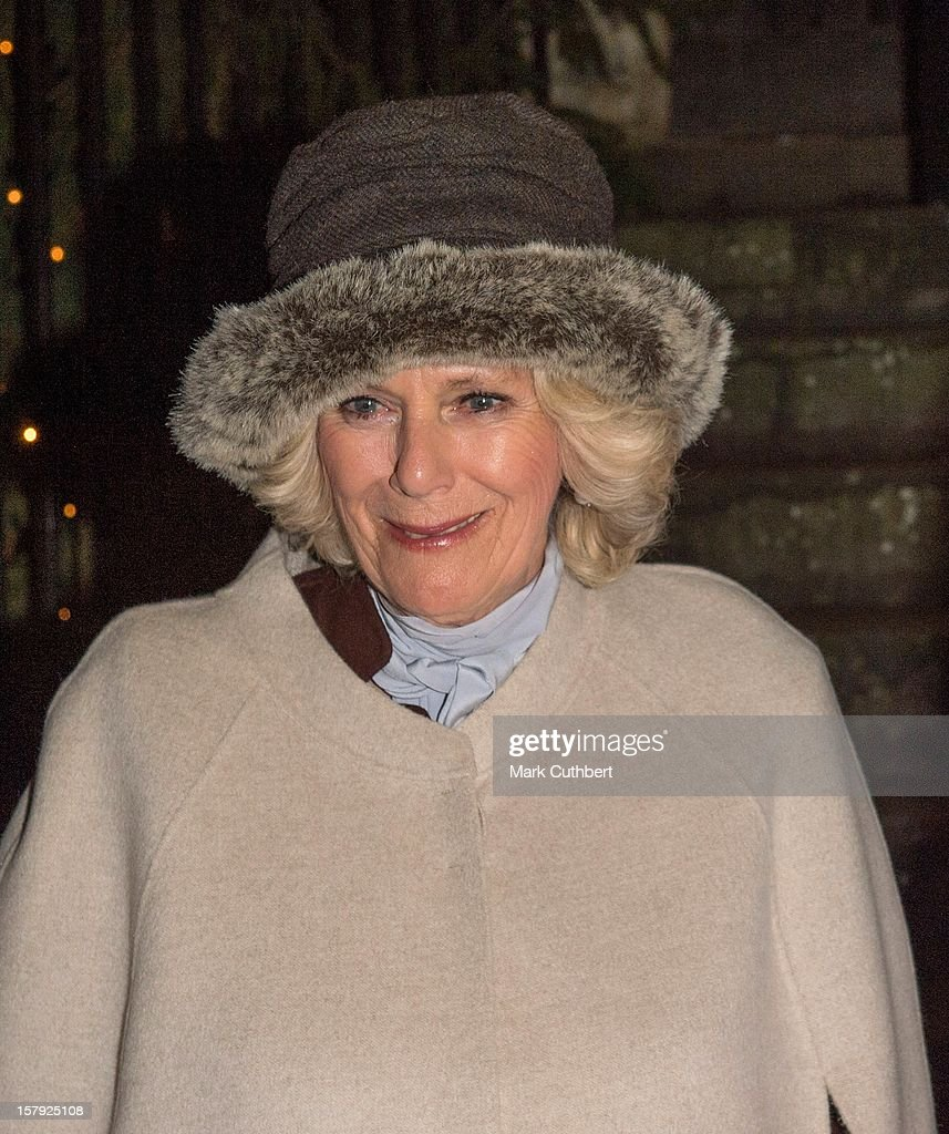 Prince Charles, Prince of Wales and <a gi-track='captionPersonalityLinkClicked' href=/galleries/search?phrase=Camilla+-+Duchess+of+Cornwall&family=editorial&specificpeople=158157 ng-click='$event.stopPropagation()'>Camilla</a>, Duchess of Cornwall switch on the Christmas lights on December 7, 2012 in Tetbury, England.