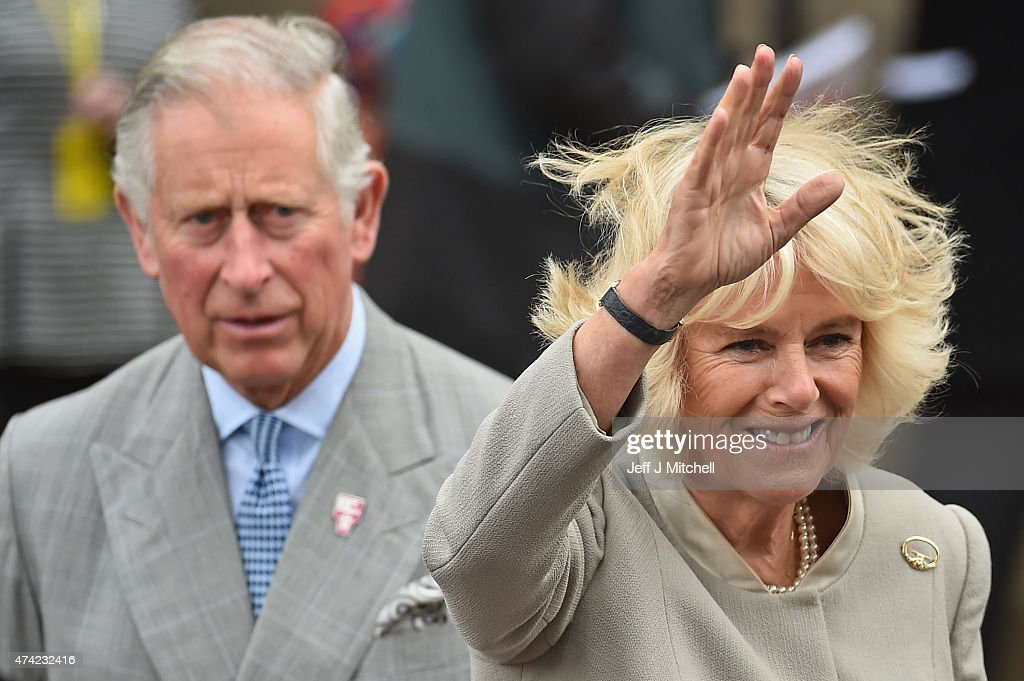 Prince Charles, Prince of Wales and Camilla, Duchess of Cornwall visit St Patrick's Church during on May 21, 2015 in Belfast, Northern Ireland. Prince Charles, Prince of Wales and Camilla, Duchess of Cornwall will attend a series of engagements in Northern Ireland following their two day visit in the Republic of Ireland.