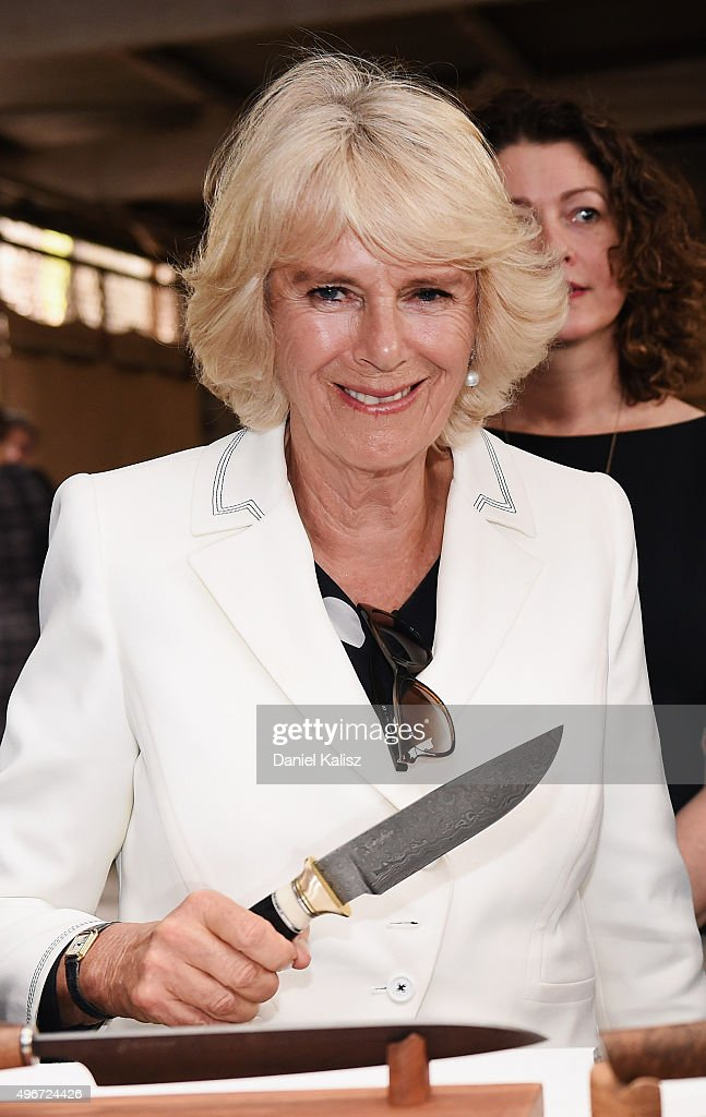 Prince Charles, Prince of Wales and <a gi-track='captionPersonalityLinkClicked' href=/galleries/search?phrase=Camilla+-+Duchess+of+Cornwall&family=editorial&specificpeople=158157 ng-click='$event.stopPropagation()'>Camilla</a>, Duchess of Cornwall visit Seppeltsfield Winery on November 10, 2015 in Barossa Valley, Australia. The Royal couple are on a 12-day tour visiting seven regions in New Zealand and three states and one territory in Australia.