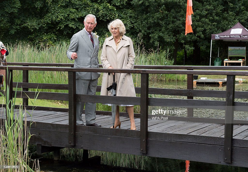 <a gi-track='captionPersonalityLinkClicked' href=/galleries/search?phrase=Prince+Charles+-+Prince+of+Wales&family=editorial&specificpeople=160180 ng-click='$event.stopPropagation()'>Prince Charles</a>, Prince of Wales and <a gi-track='captionPersonalityLinkClicked' href=/galleries/search?phrase=Camilla+-+Duchess+of+Cornwall&family=editorial&specificpeople=158157 ng-click='$event.stopPropagation()'>Camilla</a>, Duchess of Cornwall visit The Royal Norfolk Show at Norfolk Showground on June 29, 2016 in Norwich, England.