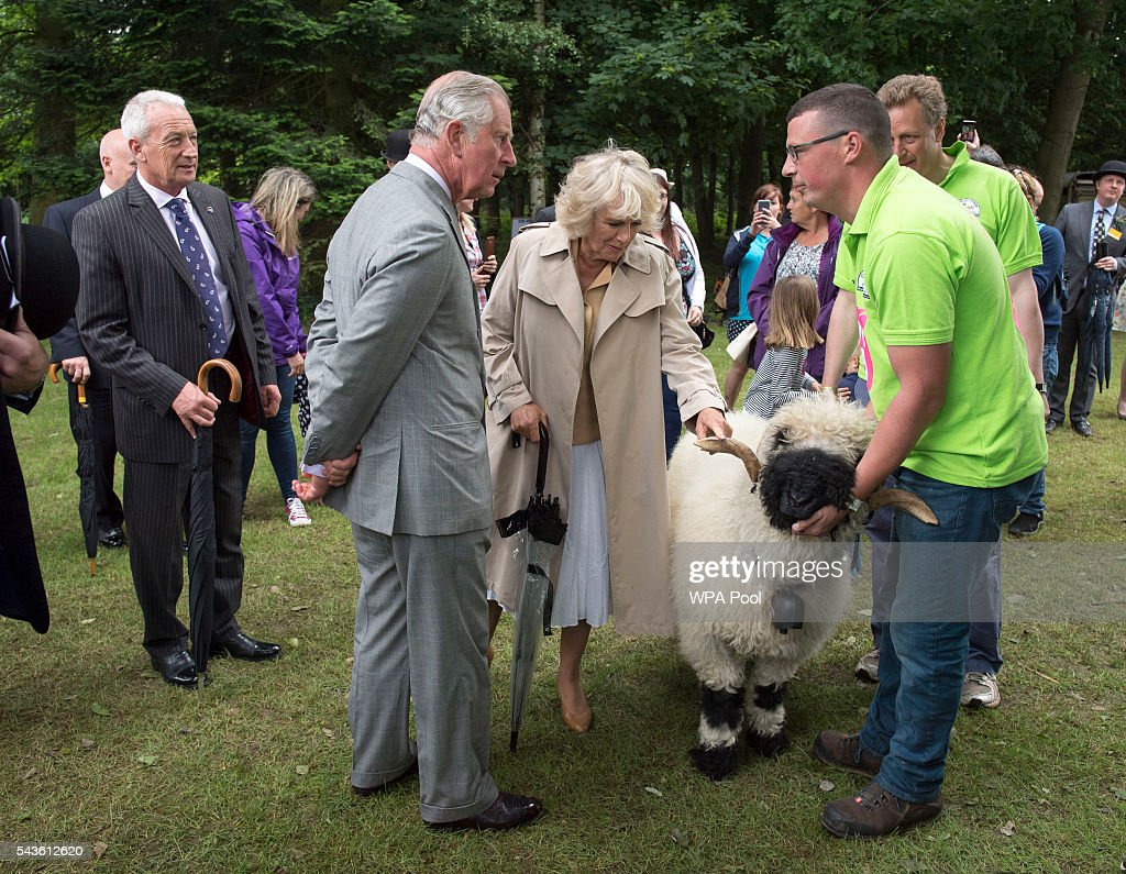 <a gi-track='captionPersonalityLinkClicked' href=/galleries/search?phrase=Prince+Charles+-+Prince+of+Wales&family=editorial&specificpeople=160180 ng-click='$event.stopPropagation()'>Prince Charles</a>, Prince of Wales and <a gi-track='captionPersonalityLinkClicked' href=/galleries/search?phrase=Camilla+-+Duchess+of+Cornwall&family=editorial&specificpeople=158157 ng-click='$event.stopPropagation()'>Camilla</a>, Duchess of Cornwall visits The Royal Norfolk Show at Norfolk Showground on June 29, 2016 in Norwich, England.