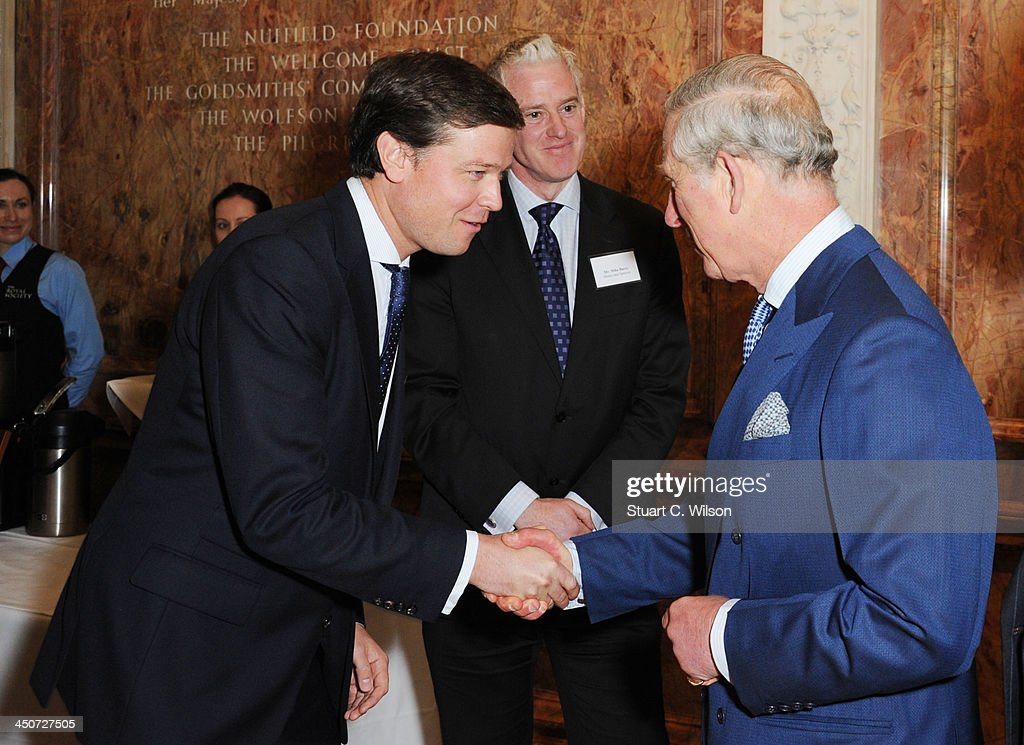 <a gi-track='captionPersonalityLinkClicked' href=/galleries/search?phrase=Prince+Charles+-+Prince+of+Wales&family=editorial&specificpeople=160180 ng-click='$event.stopPropagation()'>Prince Charles</a>, Prince of Wales and Paul Simpson (CEO, CDP) attend the reception launch of CDP's Global Forests Report 2013 at The Royal Society on November 20, 2013 in London, England.