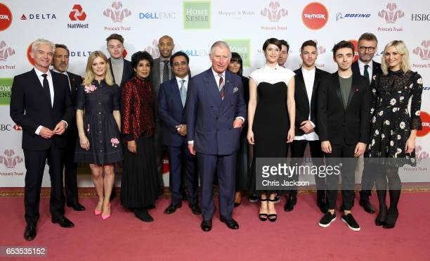 Prince Charles Prince of Wales and Phillip Schofield Robert Lindsay Emilia Fox Roman Kemp Moira Stuart Thierry Henry Claudia Winkleman Gemma Arterton...