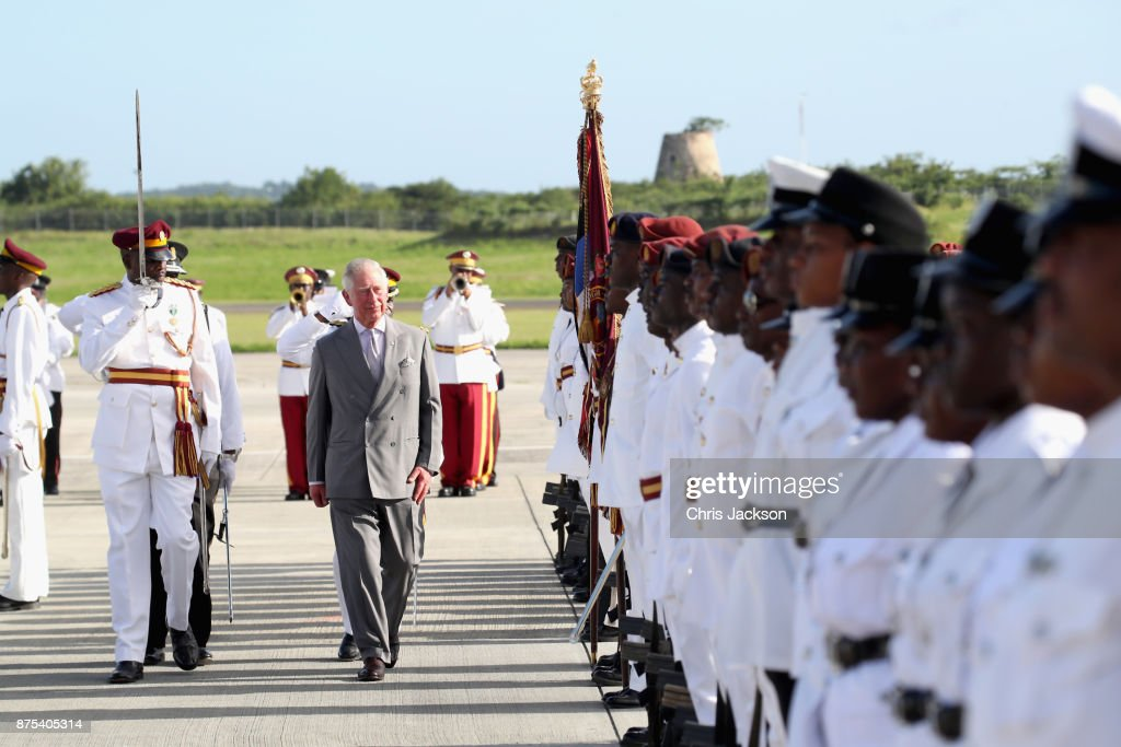 The Prince Of Wales Visits The Caribbean - Day 1