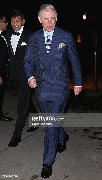 Prince Charles Prince of Wales attends the British Asian Trust reception at Victoria Albert Museum on February 5 2014 in London England