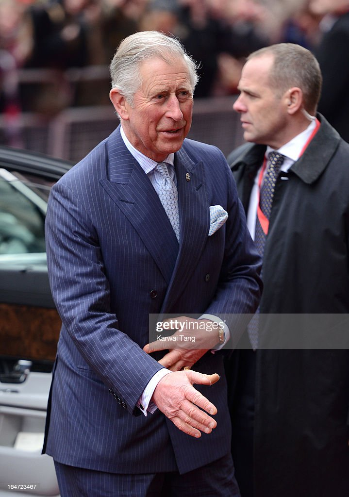 HRH <a gi-track='captionPersonalityLinkClicked' href=/galleries/search?phrase=Prince+Charles+-+Prince+of+Wales&family=editorial&specificpeople=160180 ng-click='$event.stopPropagation()'>Prince Charles</a> Prince of Wales attends the Prince's Trust Celebrate Success Awards at Odeon Leicester Square on March 26, 2013 in London, England.