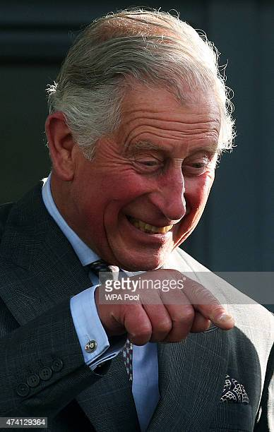 Prince Charles Prince Of Wales attends the Sligo Races at Sligo Racecourse on day two of a four day visit to Ireland on May 20 2015 in Sligo Ireland...