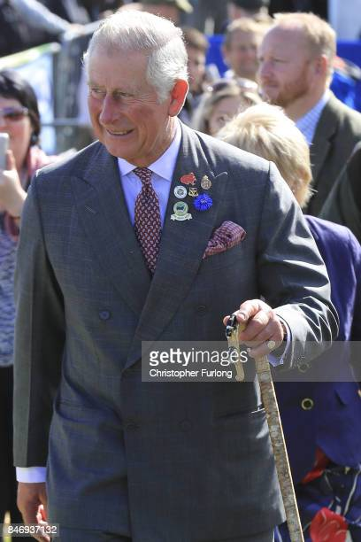 Prince Charles Prince of Wales attends The Westmorland County Show on September 14 2017 in Milnthorpe England During his tour of the Westmorland Show...