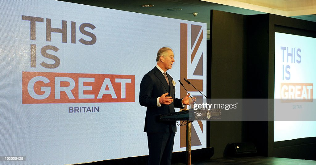 Prince Charles, Prince of Wales during a speech to business leaders, at the Intercontinental hotel on the second day of Charles and Camilla's visit to the country on March 12, 2013 in Amman, Jordan. The Royal couple are on the first leg of a tour of the Middle East taking in Qatar, Saudia Arabia and Oman