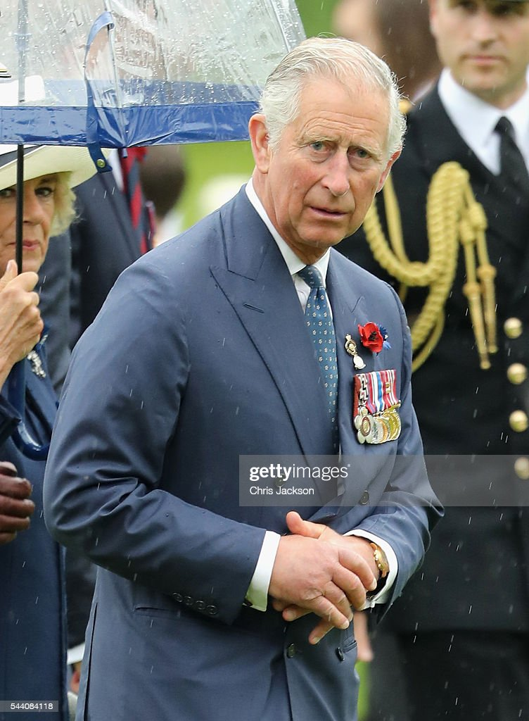 <a gi-track='captionPersonalityLinkClicked' href=/galleries/search?phrase=Prince+Charles+-+Prince+of+Wales&family=editorial&specificpeople=160180 ng-click='$event.stopPropagation()'>Prince Charles</a>, Prince of Wales during Somme Centenary Commemorations on July 1, 2016 in Thiepval, France. Today marks exactly 100 years since the beginning of the battle of the Somme.