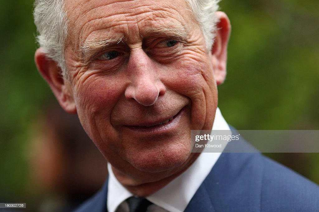 Prince Charles, Prince of Wales is seen during a reception to celebrate the 21st anniversary of Duchy originals products at Clarence House on September 11, 2013 in London, England. The reception was held in the gardens of Clarence House, and attended by Duchy suppliers, Waitrose and other international stockists, customers, charitable beneficiaries and representatives of some of the charities who benefit from the sale of the products.