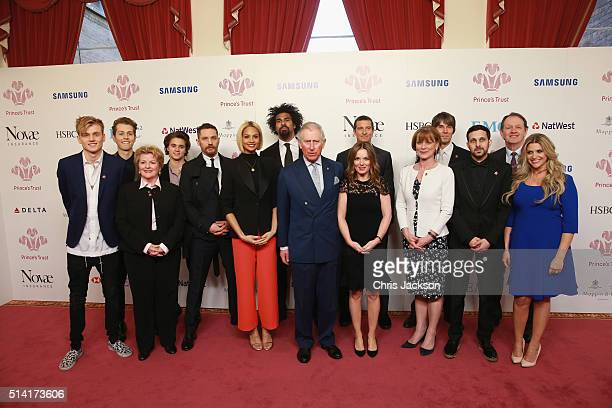 Prince Charles Prince of Wales poses for a photo during The Prince's Trust Celebrate Success Awards at London Palladium on March 7 2016 in London...