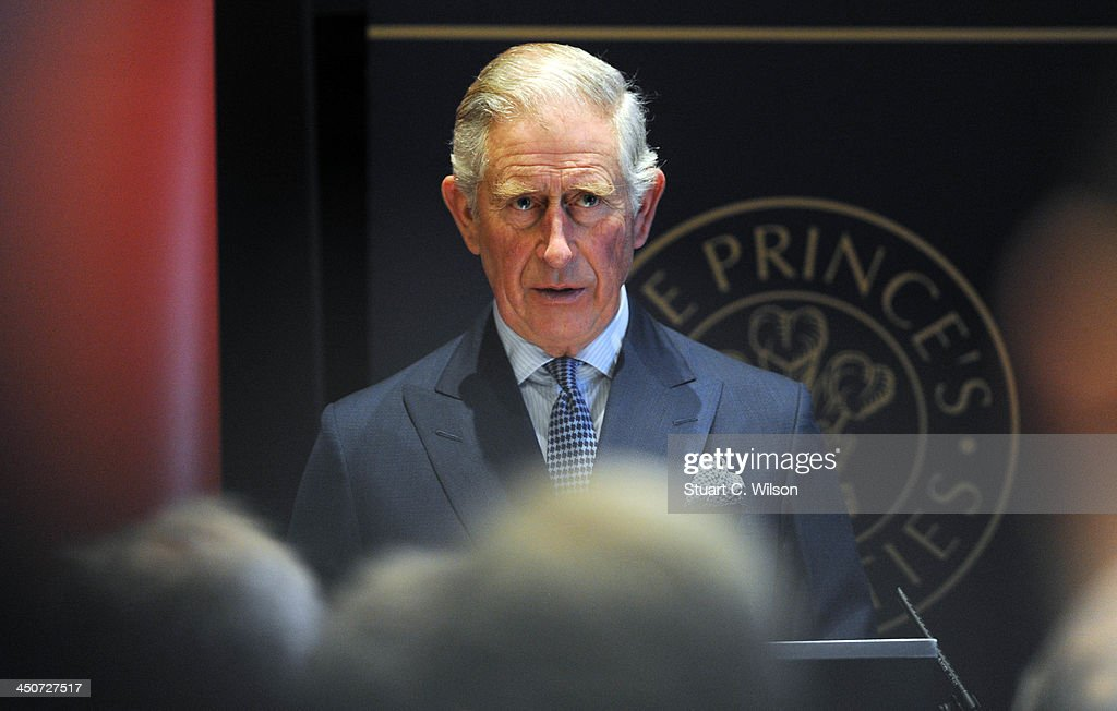 Prince Charles, Prince of Wales speaks during the reception launch of CDP's Global Forests Report 2013 at The Royal Society on November 20, 2013 in London, England.