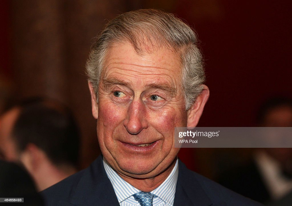 <a gi-track='captionPersonalityLinkClicked' href=/galleries/search?phrase=Prince+Charles&family=editorial&specificpeople=160180 ng-click='$event.stopPropagation()'>Prince Charles</a>, Prince of Wales talks to guests during a leadership reception hosted by The Prince's Trust at The Royal Courts of Justice on January 23, 2014 in London, England.