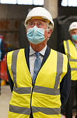 The Prince Of Wales Visits Smithfield Market And St...