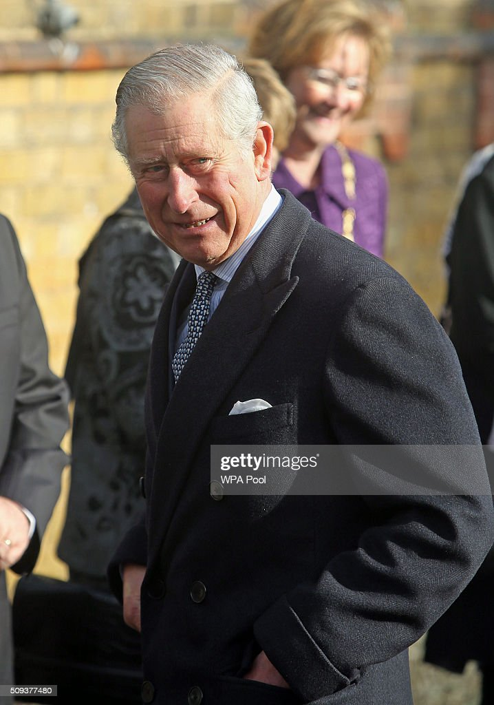 <a gi-track='captionPersonalityLinkClicked' href=/galleries/search?phrase=Prince+Charles&family=editorial&specificpeople=160180 ng-click='$event.stopPropagation()'>Prince Charles</a>, Prince of Wales visits Ashley Primary School on February 10, 2016 in Walton-on-Thames, England.