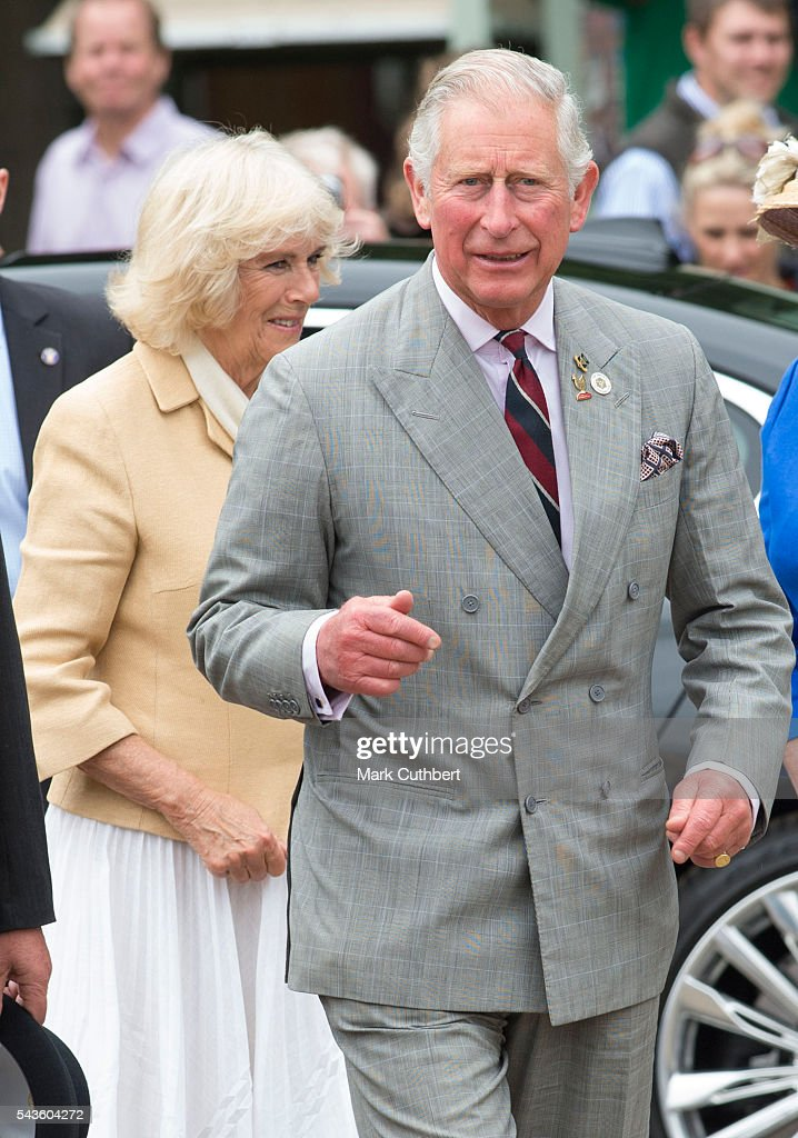 Prince Charles, Prince of Wales visits The Royal Norfolk Show at Norfolk Showground on June 29, 2016 in Norwich, England.