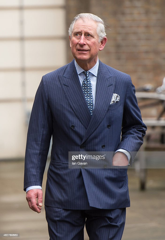 Prince Charles Prince of Wales visits the St Bride Foundation on February 5 2015 in London England The St Bride Foundation was established in 1891 as...