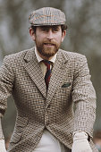 Prince Charles sporting a beard at the Badminton Horse Trials UK 1976