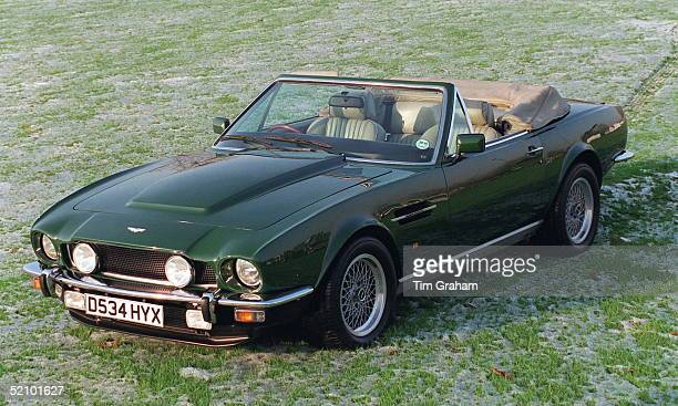 Prince Charles's Aston Martin V8 Vantage Volante Is To Be Sold At Sotheby's On Monday 11 December 1995 In Aid Of The Prince Of Wales's Charities Trust