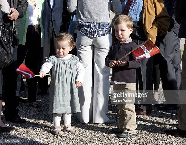 Prince Christian And Princess Isabella On The Morning Of Prince Henriks 75Th Birthday