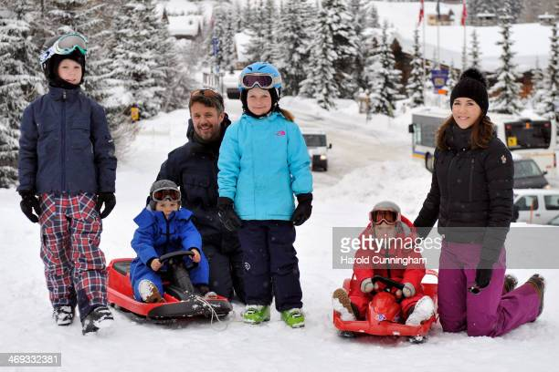 Prince Christian of Denmark Prince Vincent of Denmark Crown Prince Frederik of Denmark Princess Isabella of Denmark Princess Josephine of Denmark and...