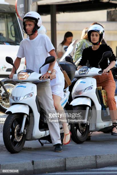 Prince Christian of Hanover and his girlfriend Alessandra de Osma are seen on May 25 2017 in Madrid Spain