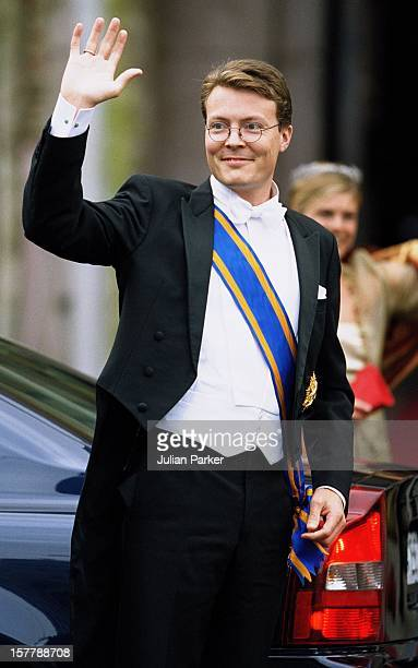 Prince Constantijn Of Holland Attends The Wedding Of Crown Prince Haakon Of Norway MetteMarit In Oslo