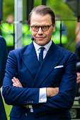 Prince Daniel Of Sweden Attends A Seminar On Future...