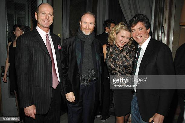 Prince Dimitri of Yugoslavia Prince Pierre D'Arenberg Lady Liliana Cavendish and Jay McInerney attend THE CINEMA SOCIETY and DKNY JEANS host the...