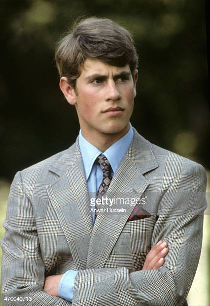 Prince Edward attends Windsor Horse Show on May 16 1982 in Windsor England