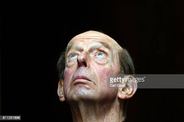 Prince Edward Duke of Kent also the 10th Grand Master of the United Grand Lodge of England looks on as he opens a gallery titled 'Three Centuries of...