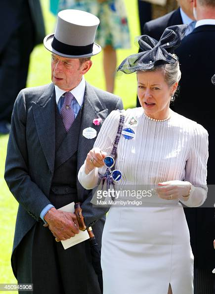 Prince Edward Duke of Kent and his daughter Lady Helen Taylor attend Day 4 of Royal Ascot at Ascot Racecourse on June 20 2014 in Ascot England