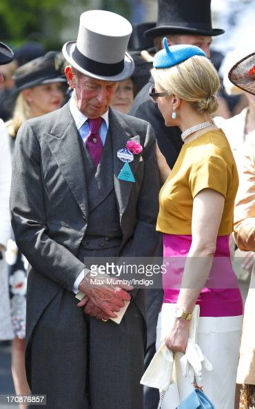 Prince Edward Duke of Kent and Lady Helen Taylor attend Day 2 of Royal Ascot at Ascot Racecourse on June 19 2013 in Ascot England