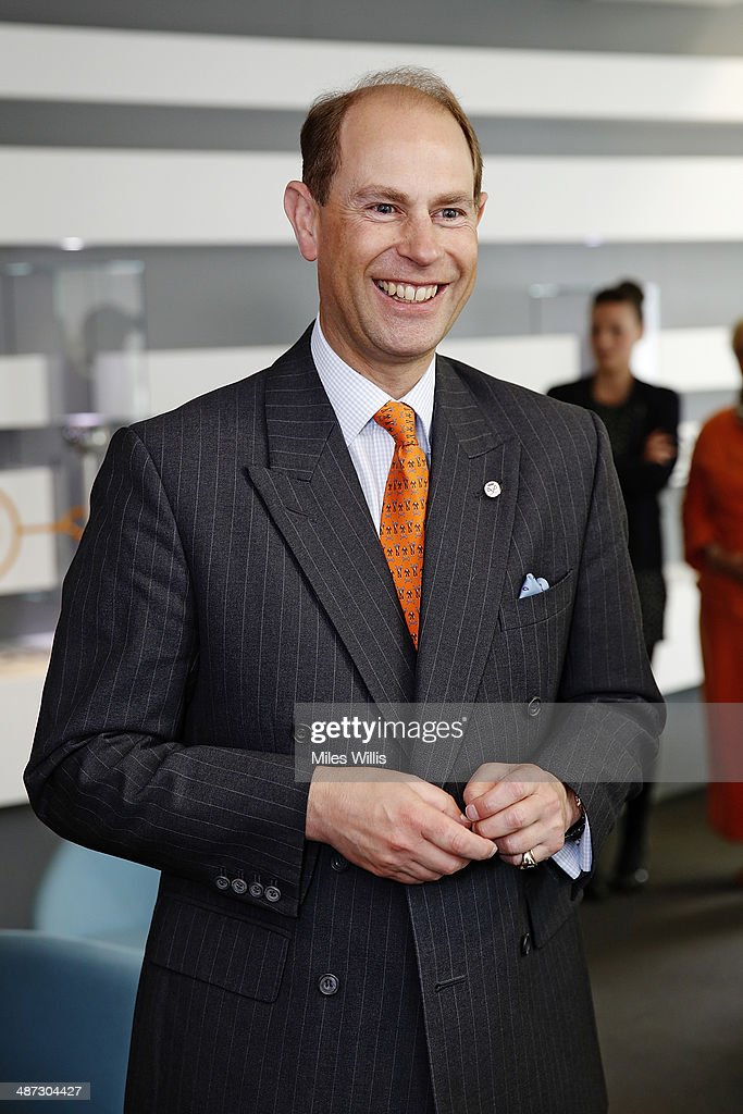 Prince Edward, Earl of Wessex meets ParalympicsGB athletes at a gathering to celebrate their performances at the Sochi 2014 Winter Paralympics at the British Paralympics Association headquarters in London, England on April 29, 2014.