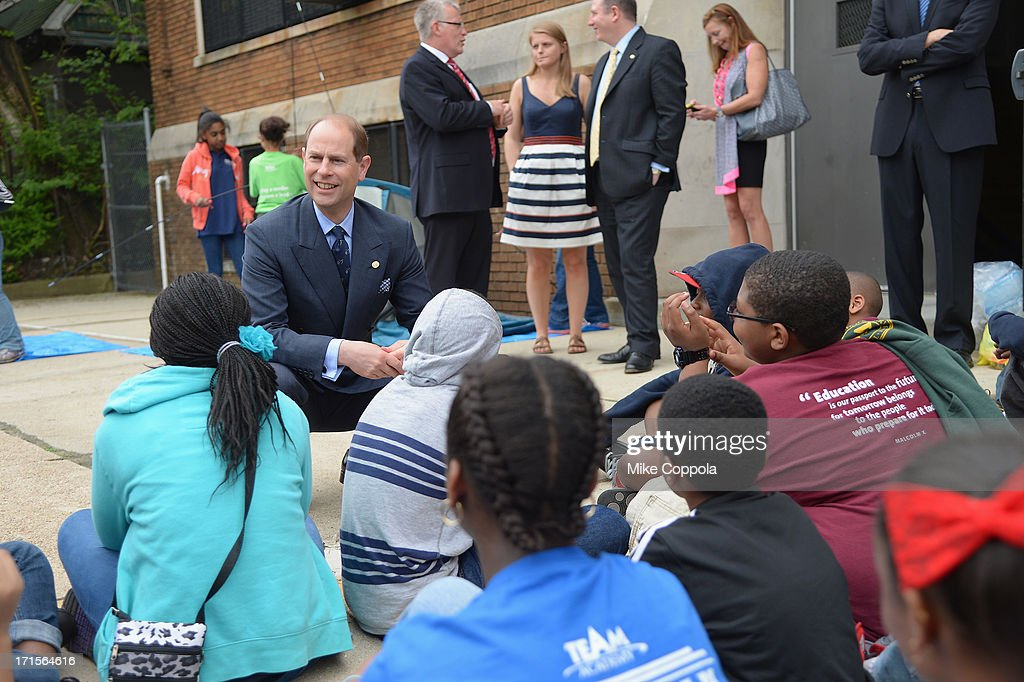 <a gi-track='captionPersonalityLinkClicked' href=/galleries/search?phrase=Prince+Edward+-+Earl+of+Wessex&family=editorial&specificpeople=160185 ng-click='$event.stopPropagation()'>Prince Edward</a>, Earl of Wessex visits the TEAM Academy on May 22, 2013 in Newark City, New Jersey.