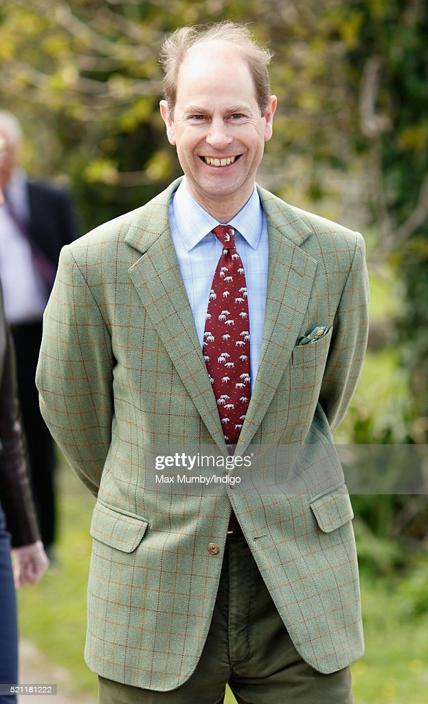 Prince Edward, Earl of Wessex visits the Wild Place Project at Bristol Zoo on April 14, 2016 in Bristol, England.