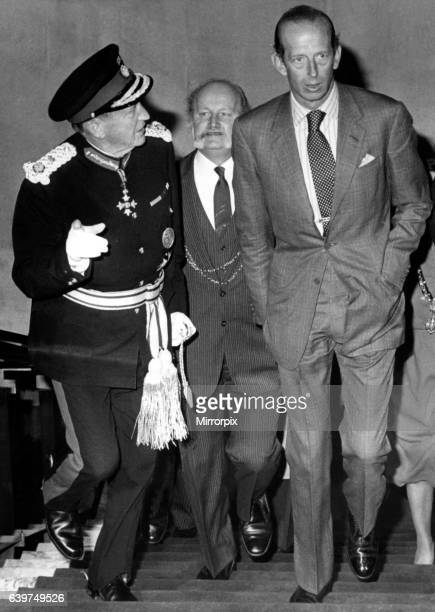 Prince Edward of Kent The Duke and Duchess of Kent North East Royal Visits The Duke of Kent during his visit to Newcastle 11 June 1982 The Duke with...