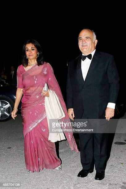 Prince El Hassan Bin Talal and Sarvath El Hassan bin Talal attend private dinner to celebrate the Golden Wedding Anniversary of King Constantine II...
