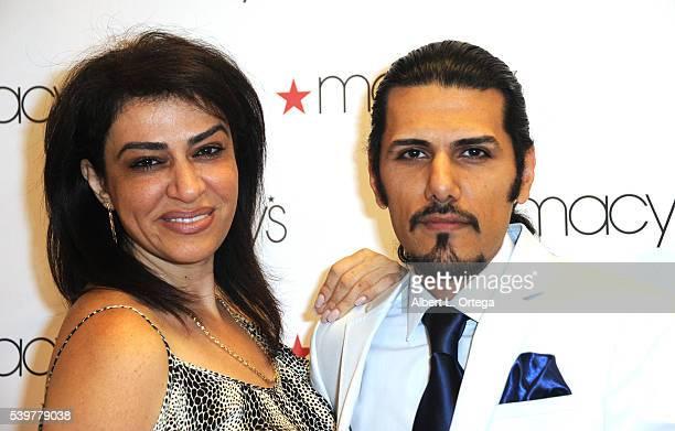 Prince Emad Zand of the Persian Zand Dynasty and Ramesh Zadeh arrive for the Ford Austin And Vida Ghaffari Host IberJoya Jewelry Show held at Macy's...
