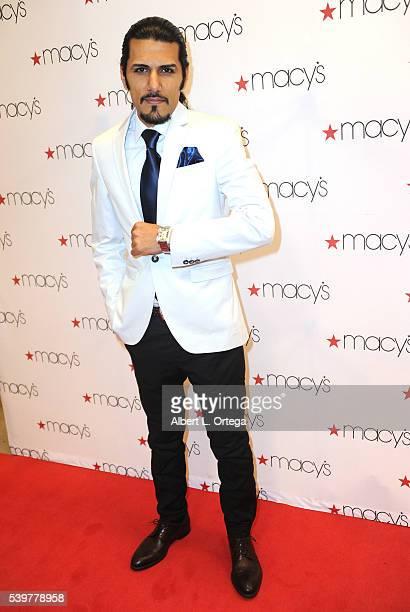 Prince Emad Zand of the Persian Zand Dynasty arrives for the Ford Austin And Vida Ghaffari Host IberJoya Jewelry Show held at Macy's Westfield...