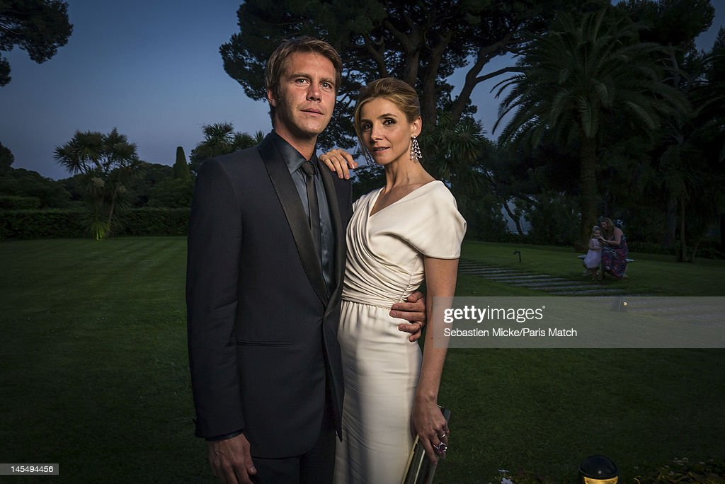 Prince Emmanuel Philibert and wife, actress Clotilde Courau, photographed at the amfAR Cinema Against AIDS gala, for Paris Match on May 24, 2012, in Cap d'Antibes, France.