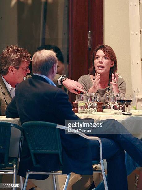 Prince Ernest of Hanover and wife Princess Caroline of Hanover sighting having lunch at Cipriani restaurant in SOHO on October 26 2007 in New York...