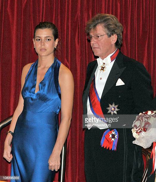 Prince Ernst August of Hanover and Charlotte Casiraghi in Monte Carlo Monaco on November 19 2008